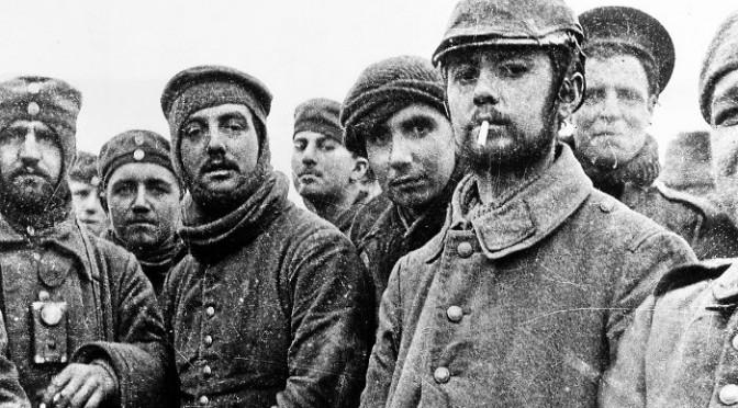 Joulu 1914 juoksuhaudoissa